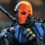 デスストローク バットマンとも互角に渡り合える能力を持った敏腕の傭兵